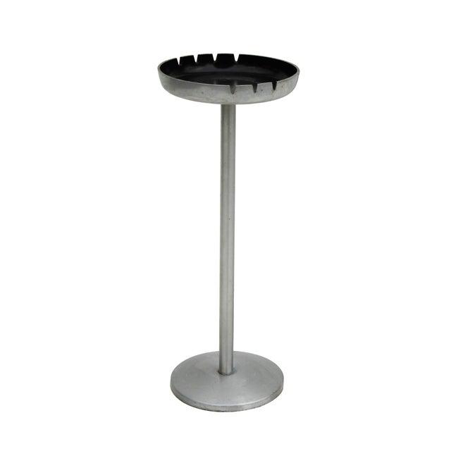 Standing Aluminum Pedestal Ashtray - Image 1 of 7