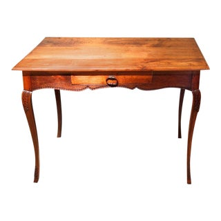 French Provincial Louis XV Style Writing Table For Sale