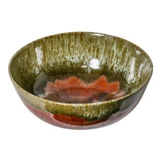 Vintage Japanese Handmade Pottery Bowl, Signed For Sale