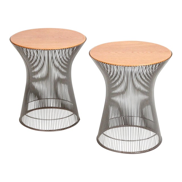 Pair of Side Tables by Warren Platner for Knoll For Sale