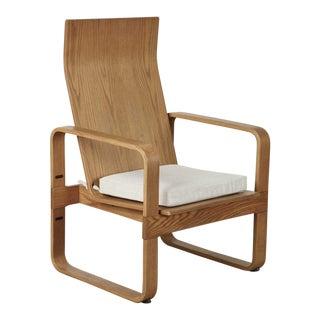 1970s Vintage Alvar Aalto Style Arm Chair For Sale