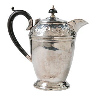 Madcap Cottage English Silverplate Teapot For Sale