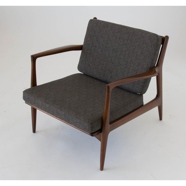 Ib Kofod-Larsen for Selig Lounge Chair For Sale - Image 5 of 11