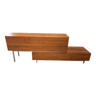 Lugano 2 Piece Media Cabinet, by Bo Concept For Sale