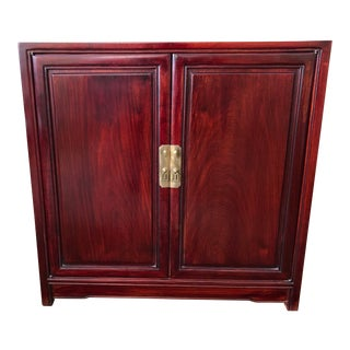 Asian Antique Cherry Wood Credenza For Sale