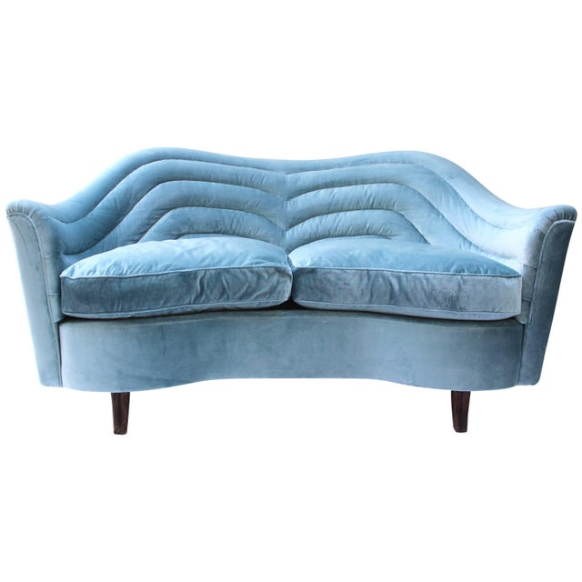 Italian Loveseat by Andrea Busiri Vici For Sale - Image 10 of 10