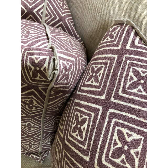Quadrille China Seas Designer Made Fiorentina Throw Pillows - a Pair For Sale - Image 10 of 13