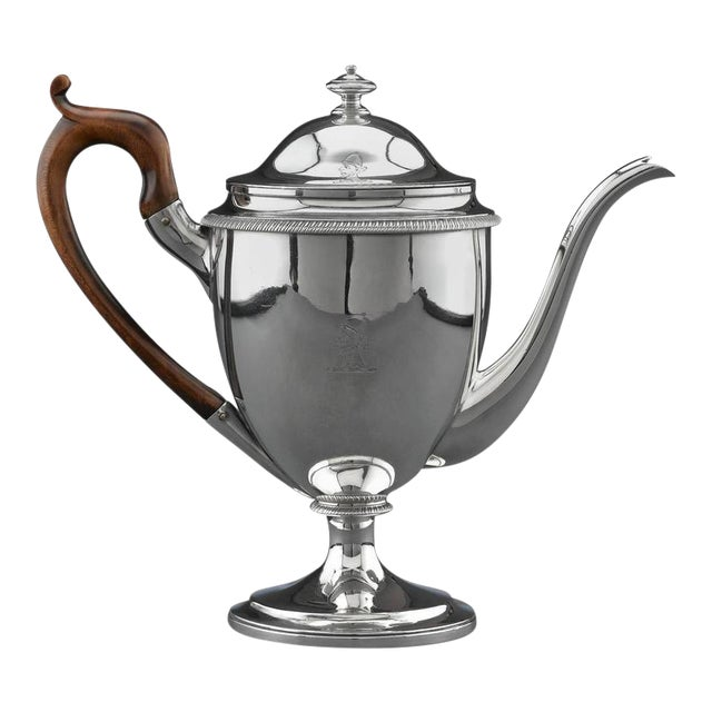 Silver Argyle Pot by Garrard For Sale