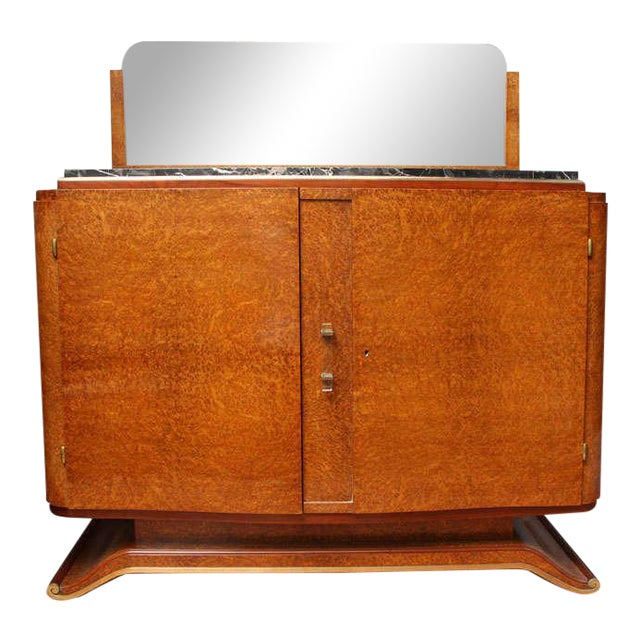 Small French Art Deco Style Sideboard - Image 1 of 11