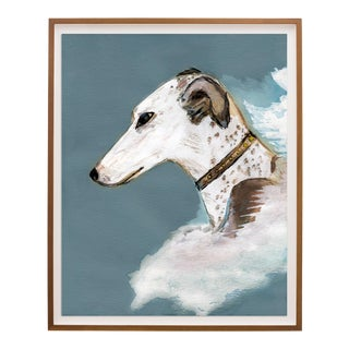 """The Aristocrat"" Greyhound Dog Portrait Print For Sale"