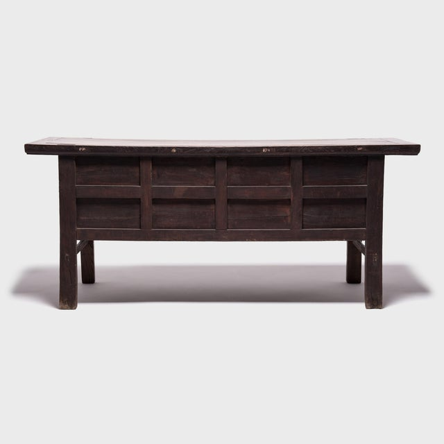 Asian 19th Century Chinese Ten-Drawer Altar Coffer For Sale - Image 3 of 9
