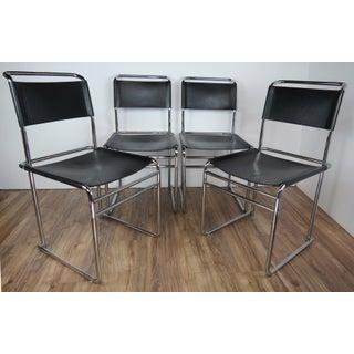 Vintage Mid Century Bauhaus Designer and Architect Marcel Breuer B5 Chairs - Set of 4 Preview