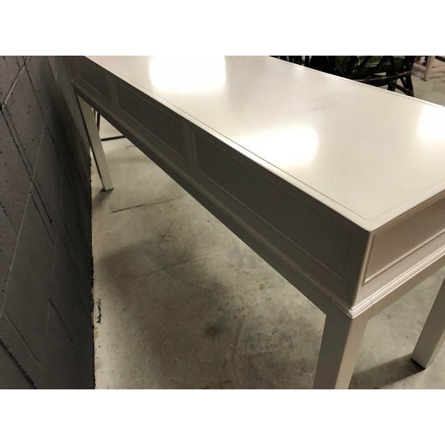 Wood Somerset Bay Console Table For Sale - Image 7 of 13