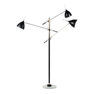 Stilnovo Floor Lamp Serie 1010 Piantana 3 Luci For Sale