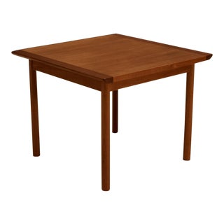 1960s Mid-Century Modern Westnofa Teak Side Table For Sale
