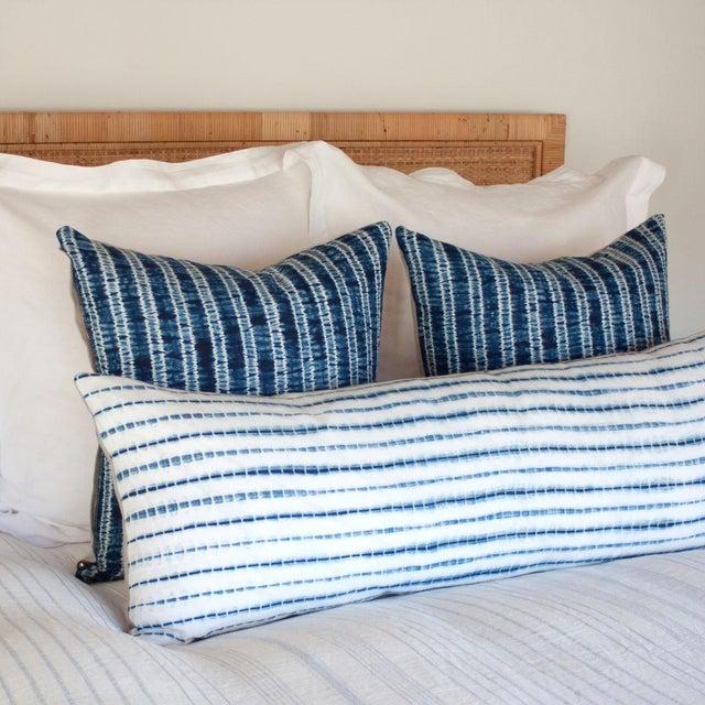 Contemporary Shibori Pillow Cover III For Sale - Image 3 of 4
