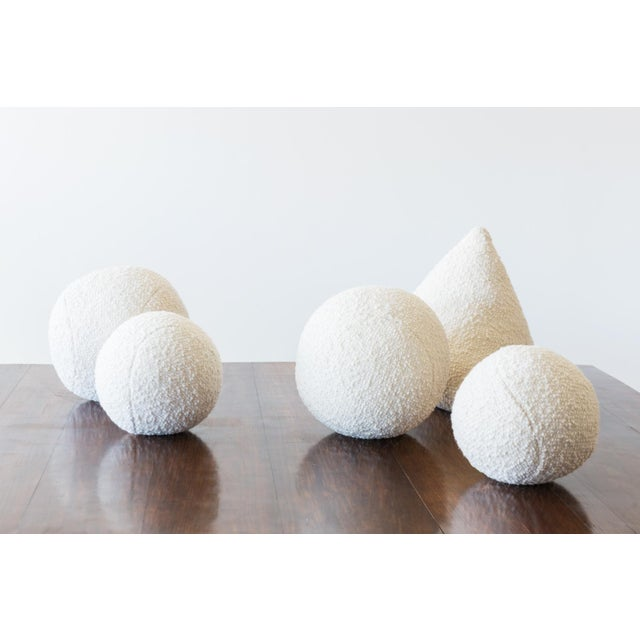 Architectural Pillows by Hunt Modern in Textural Wools - Image 2 of 10