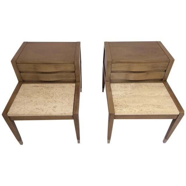 American of Martinsville Side Tables - Pair - Image 1 of 7