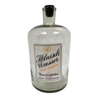 Vintage German Pharmacy Perfume Bottle For Sale