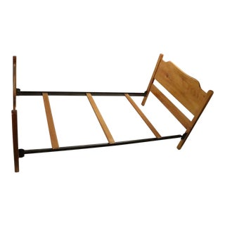 Solid Maple Bed Beecher Falls Made in Vermont For Sale