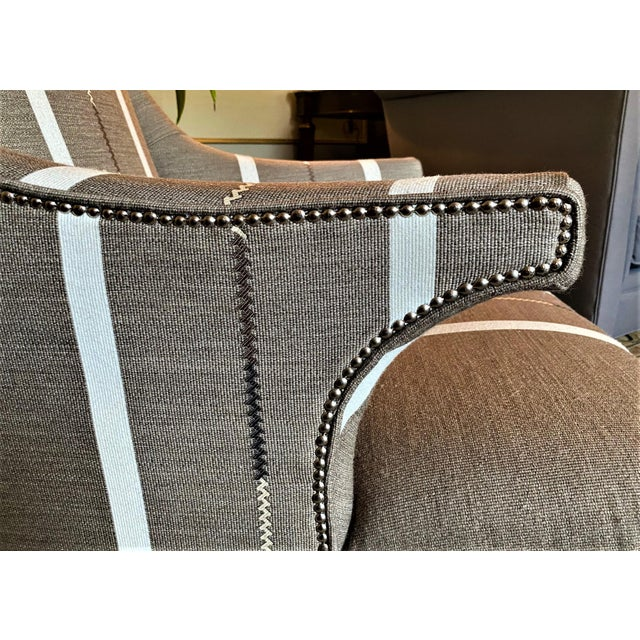 2010s Hans Wenger Style Contemporary Armchairs - a Pair For Sale - Image 5 of 11
