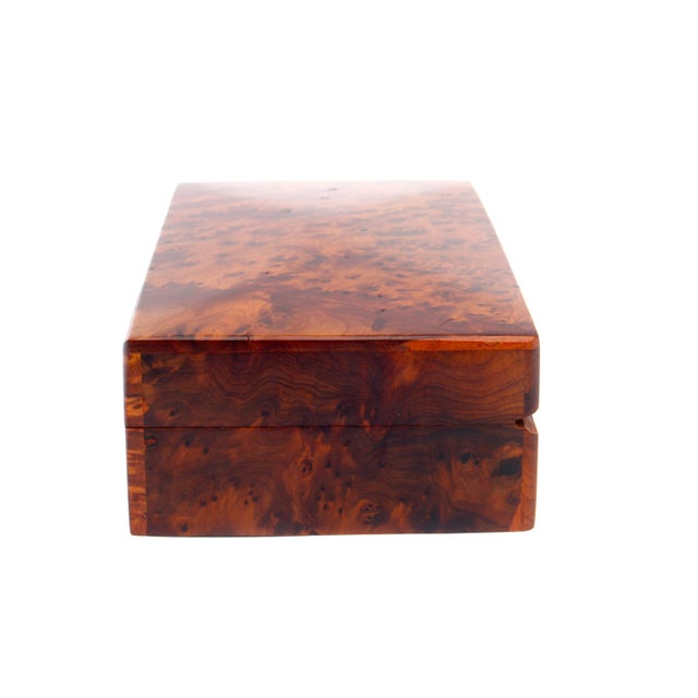 Decorative Juniper Burl Wood Box - Image 6 of 7