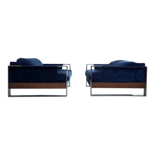 Adrian Pearsall Craft Associates Mid-Century Lounge Chairs - a Pair For Sale