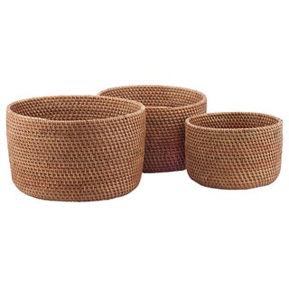 Nesting Bowls in Cinnamon - Set of 3 For Sale
