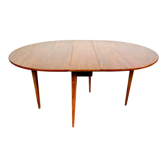 Mid-Century Danish Modern Sutcliffe of Todmorden S Form Drop Leaf Table For Sale