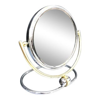 1960s Fold Magnifying Vanity Mirror For Sale