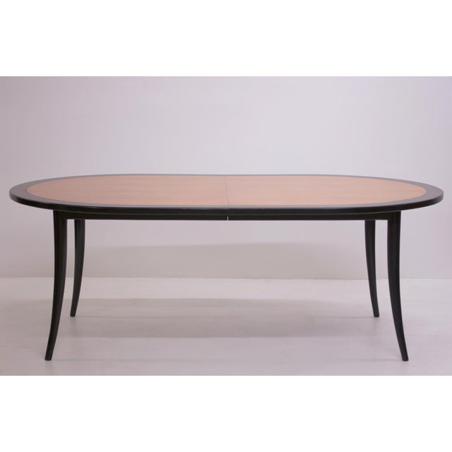 Harvey Probber Harvey Probber Saber Leg Dining Table For Sale - Image 4 of 6