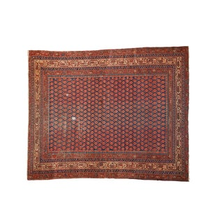 "Antique Malayer Rug - 5'3"" x 6'3"" For Sale"