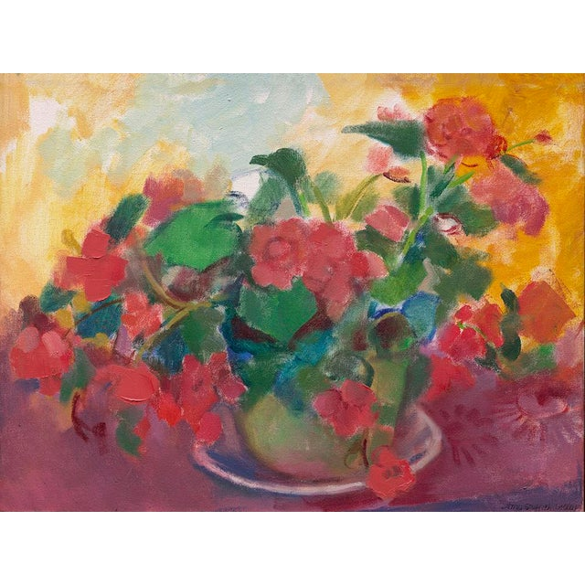"Modern Amy Griffith Colley ""Let Begonias Be Begonias"" Giclée Print For Sale - Image 3 of 3"
