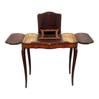 20th Century French Provincial Inlaid Lady's Desk For Sale