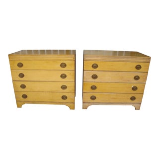 Mid Century Mengel Nightstands - a Pair For Sale