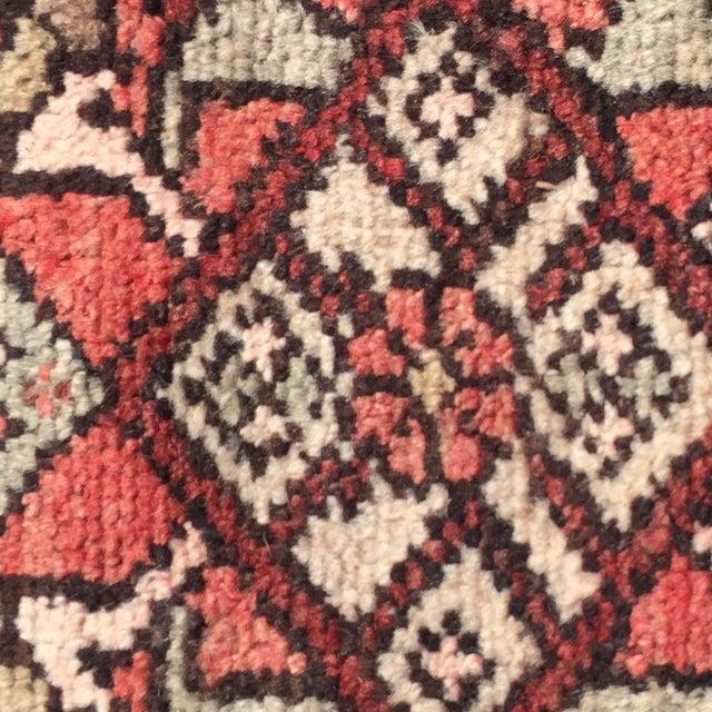 Vintage Hamadan Persian Rug -1′10″ × 2′4″ - Image 8 of 8