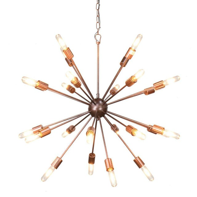 The Alanya Chandelier is a fabulous statement piece!! It comes with vintage style Edison bulbs. It is made of iron and has...