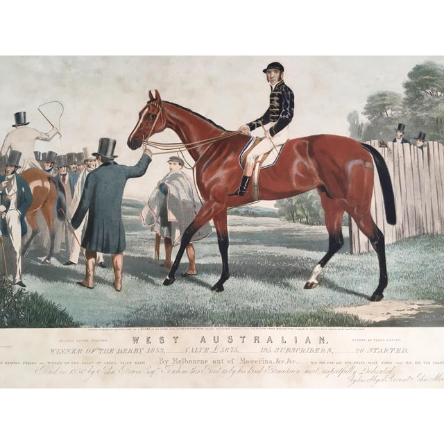 English Horse Racing Print, C1853 For Sale - Image 9 of 13