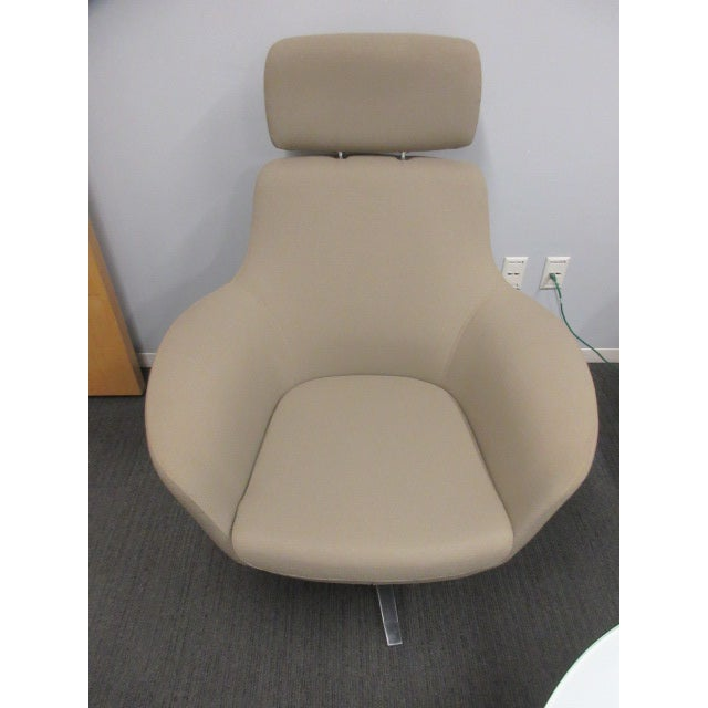 Coalesse Bob Lounge Chair With Headrest | Chairish
