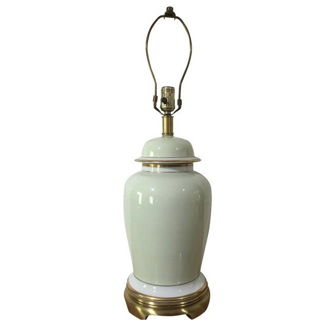 Vintage Frederick Cooper Ginger Jar Lamp For Sale