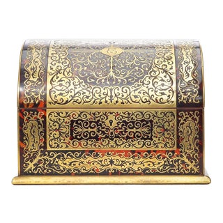 19th C. French Boulle Box For Sale