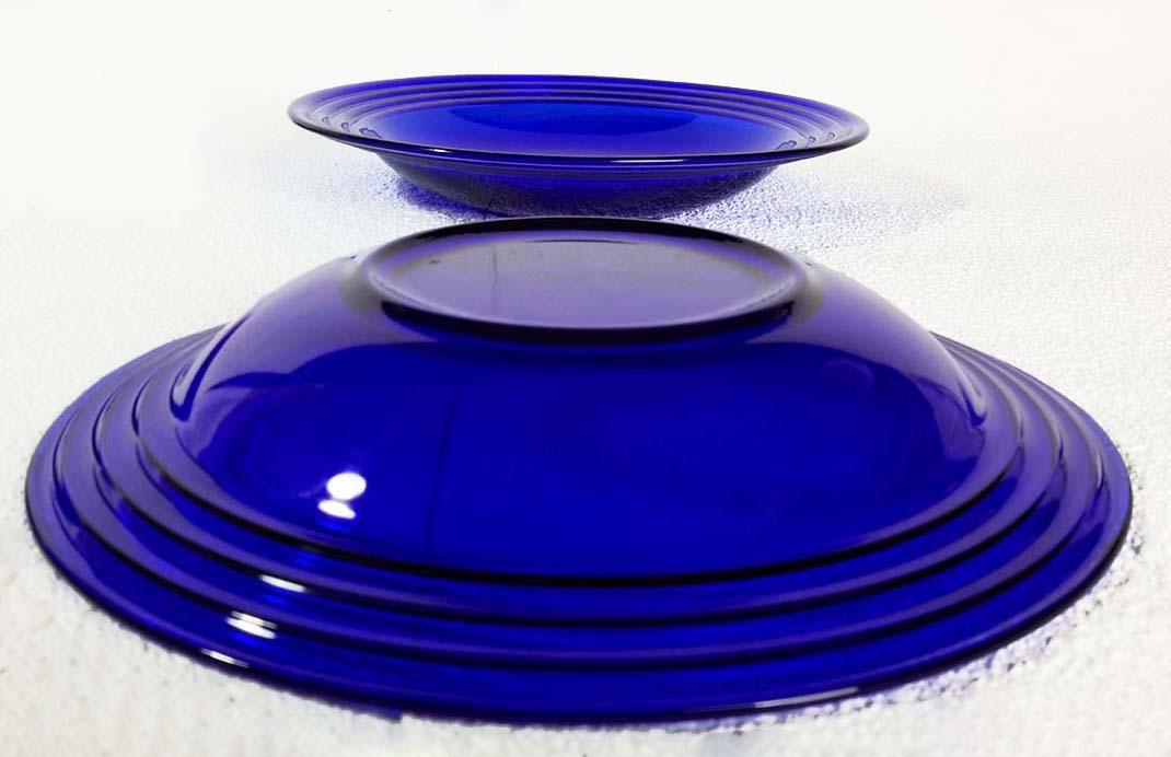 Fresh Blue Glass Dinnerware Sets - Glass Designs RT72