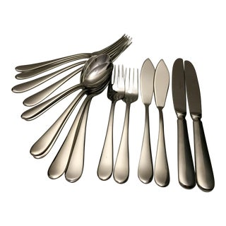 Villeroy & Boch Oscar Stainless Steel Flatware - Set of 16