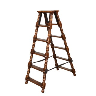 Vintage Jacobean Style Ladder For Sale