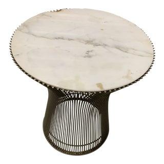 Vintage Knoll Platner Side Table For Sale