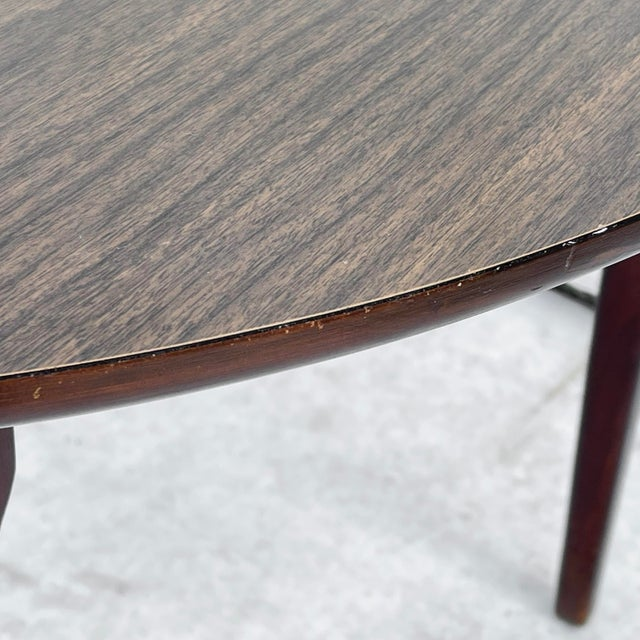 Mid-Century Modern Dining Set With Five Chairs For Sale - Image 12 of 13
