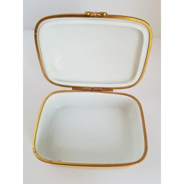 Vintage Chamart Limoges Trinket Box For Sale - Image 10 of 12