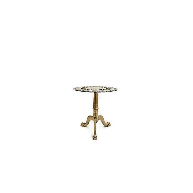 Antique Brass Trivet/Pastry Stand - Image 3 of 4
