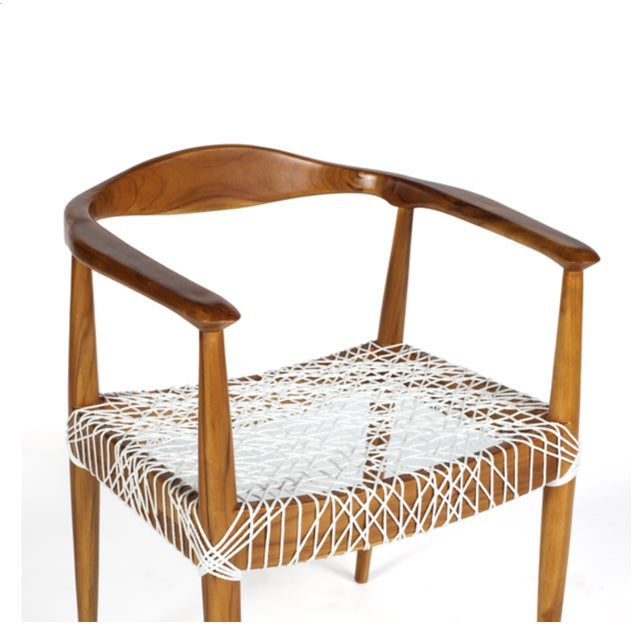 Teak Me Home Reclaimed Teak Wood Ludloe Arm Chair - Image 4 of 4