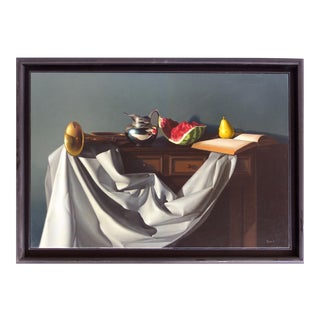 Oil on Canvas Still Life by Nicolas Fasolino (Argentina, b.1977)